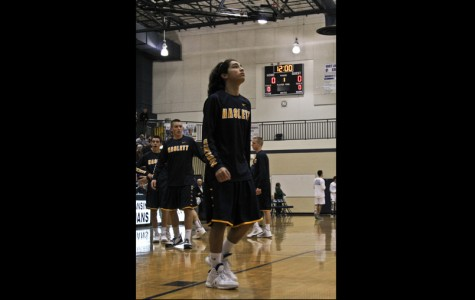 Haslett senior plays basketball after 4 year absence