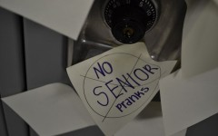 Senior pranks prohibited