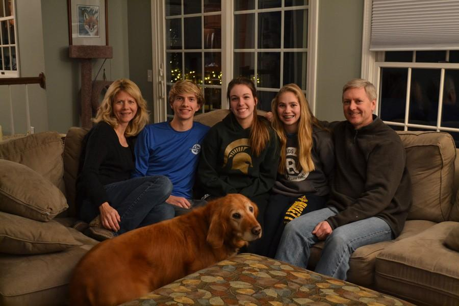 Senior reconnects with biological family