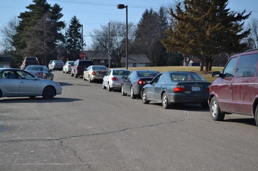 Students responsible for Haslett parking lot safety