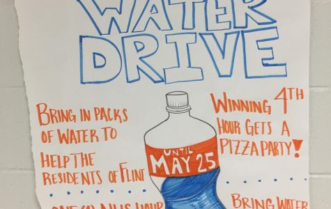 Black Student Union holds Flint water drive